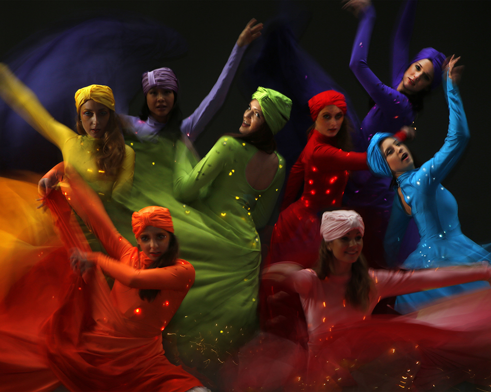 Light Emitting Dance in colour 20, Divine Company - Copy