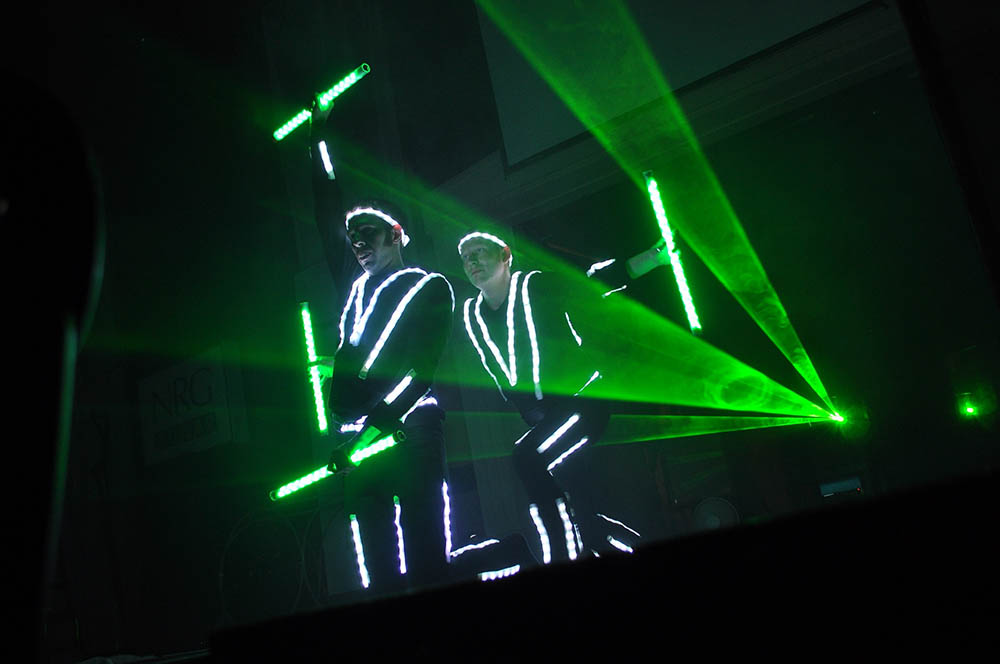Photon Glow Show - Glow clubs and laser live