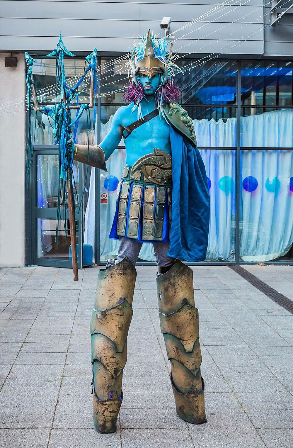 Poseidon Greek God stilt 1