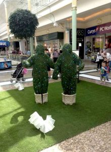 Trees A Live in Trafford Centre