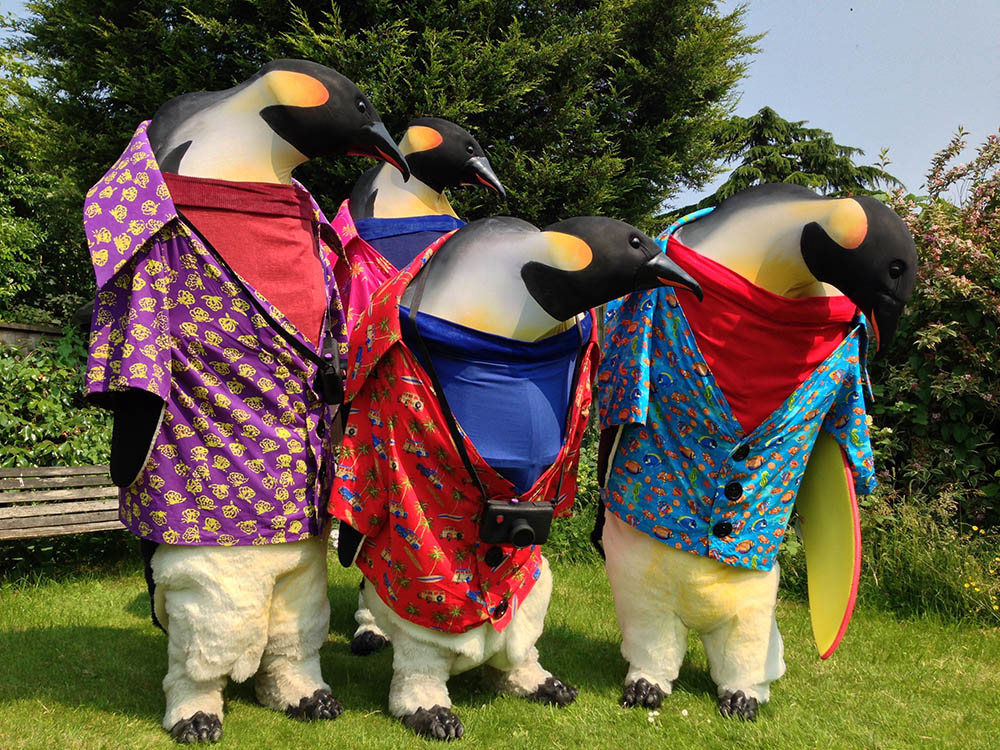 Penguin event performers