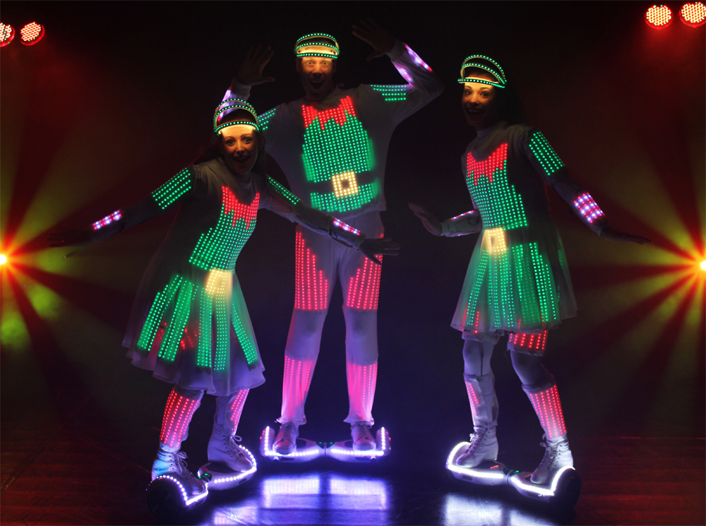 Christmas LED performers