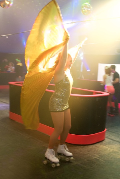 Roller performance for events