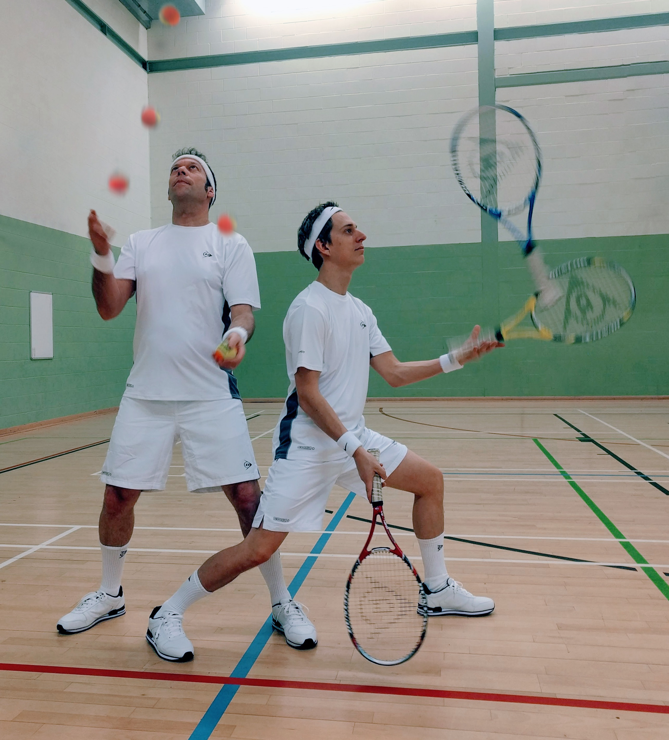 sport tennis juggling entertainment party walkabout circus