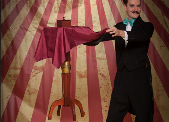 magic, magician, show, stage, cabaret, comedy, assistant, rabbit