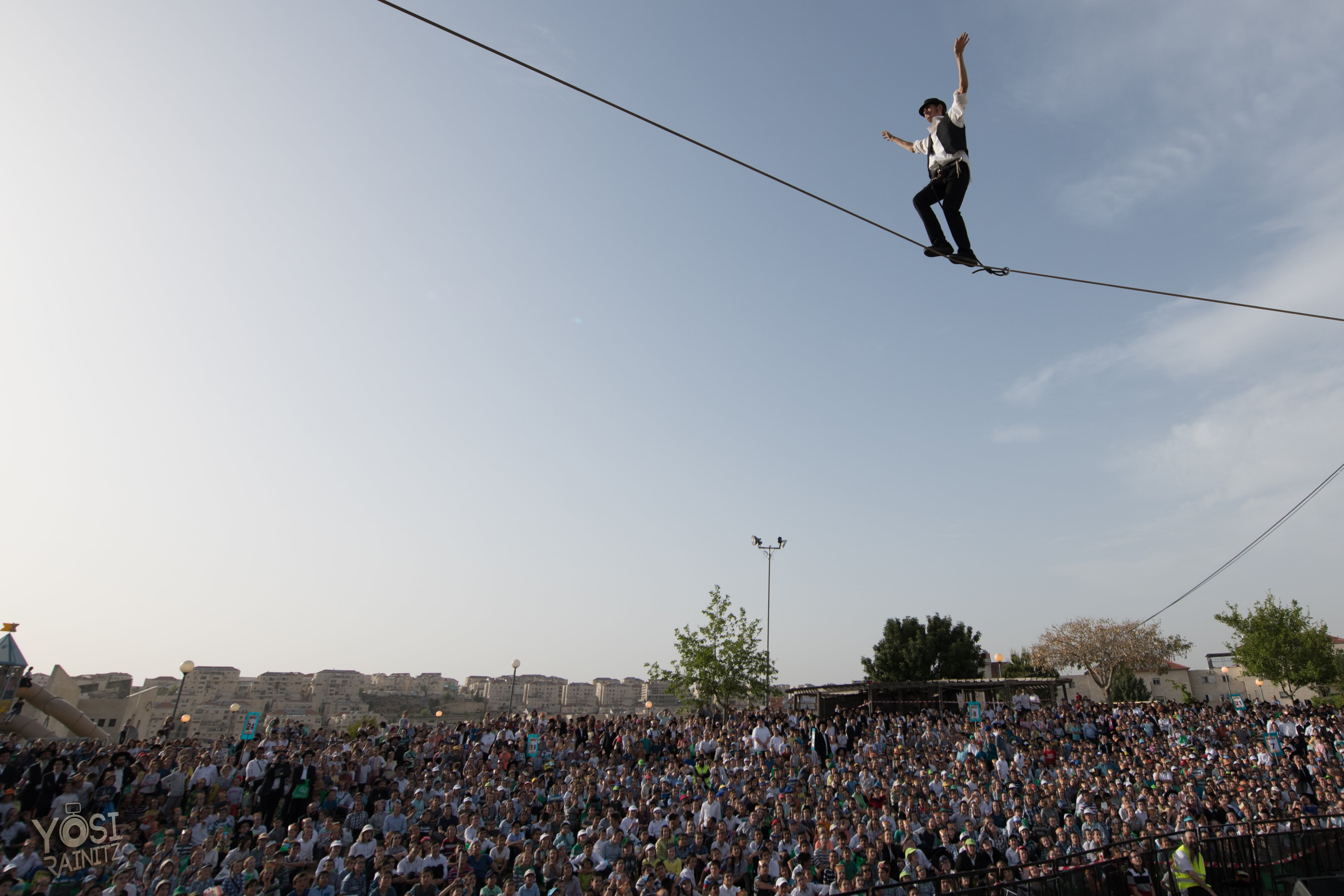 circus, tightrope, street, theatre, show, dangerous, shock, wow